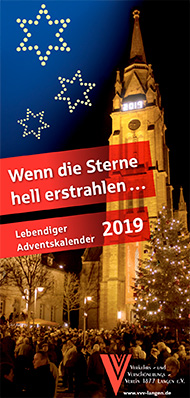 Adventskalender-Flyer